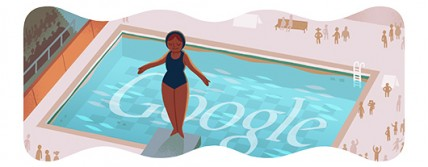 Google Doodle: Olympic Diving 2012