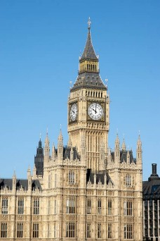 Clock Tower and Houses of Parliament, London