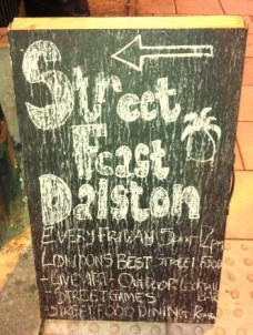 Street Feast: a happy find in Dalston