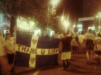 Thank You Kiev from Swedish Fans