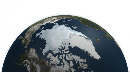 Arctic sea ice reached record lows in 2011
