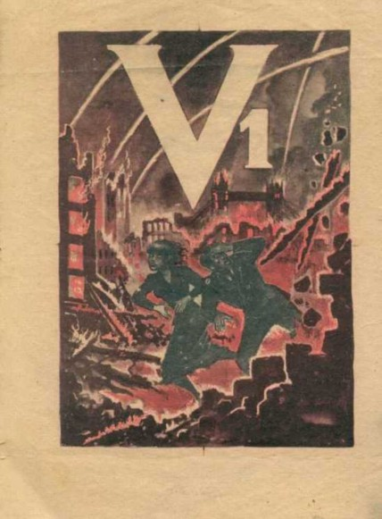Nazi leaflet on the V-1