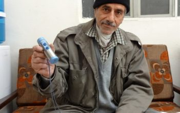 Eid Hanani can barely afford his cancer treatment