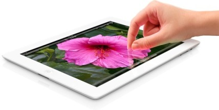 Pinch to zoom on the Apple iPad