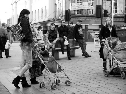 Mothers with young children in Derby