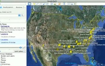 A screen of Raytheon's RIOT analytics software
