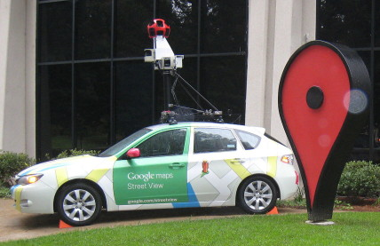 Google Street View car