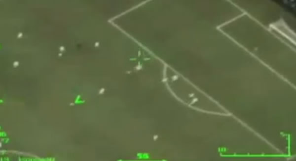 Neymar goal caught on drone video