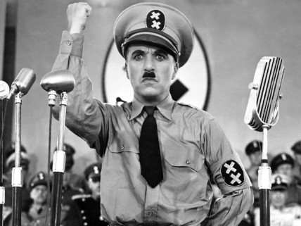 Charlie Chaplin in The Great Dictator (1940)