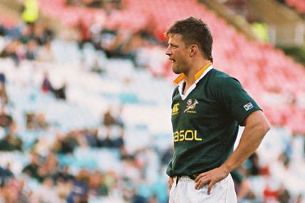 Springbok number 8 Bob Skinstad at South African Rugby World Cup 1997