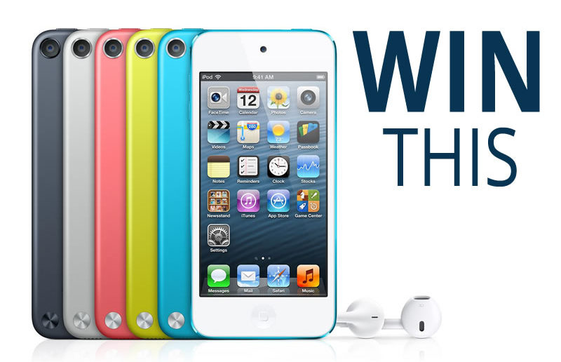 Win iPod Touch 5th generation