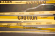 Caution tape / police tape
