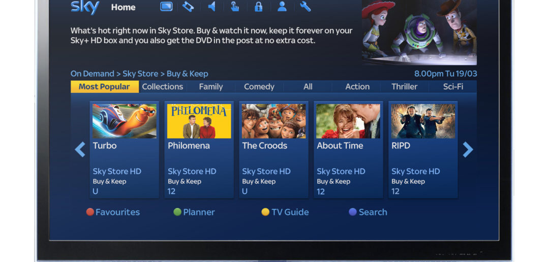 Sky Store Buy and Keep service launched
