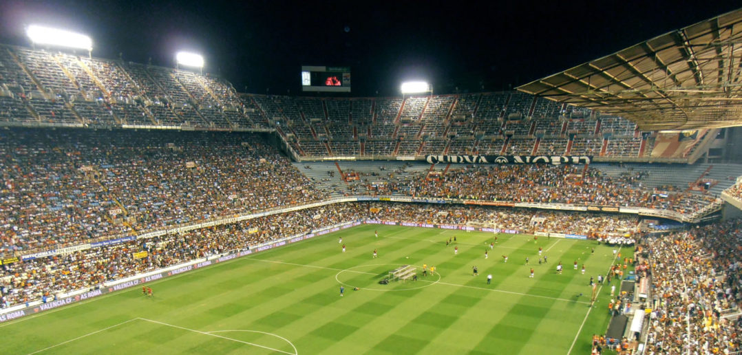 Valencia football club stadium