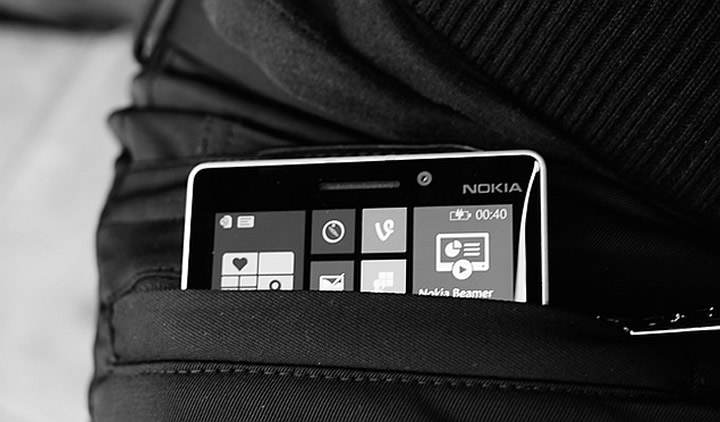 Microsoft/Nokia wireless charging trousers
