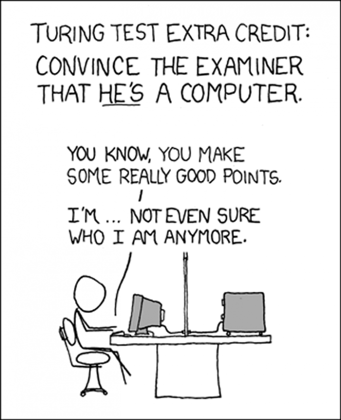 Turing Test XKCD