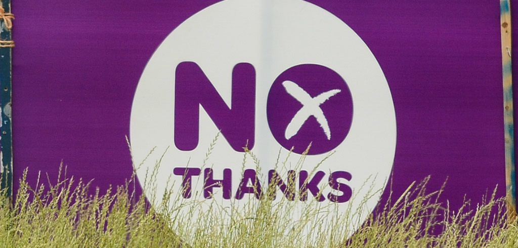 Scotland says No Thanks to independence