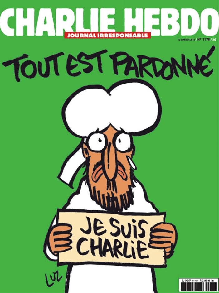 Charlie Hebdo: All is forgiven