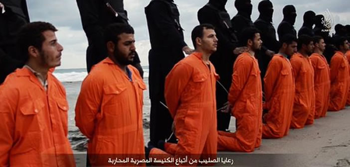 Islamic State executes 21 Egyptian Coptic Christians in Libya