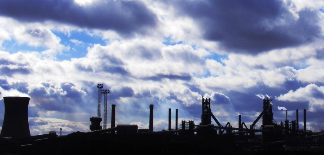 Scunthorpe steel works