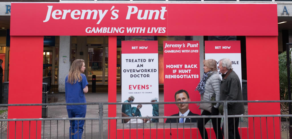 Junior doctors row - Jeremy's punt