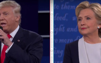 Trump vs Clinton: Second debate
