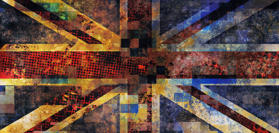 Union Jack abstract
