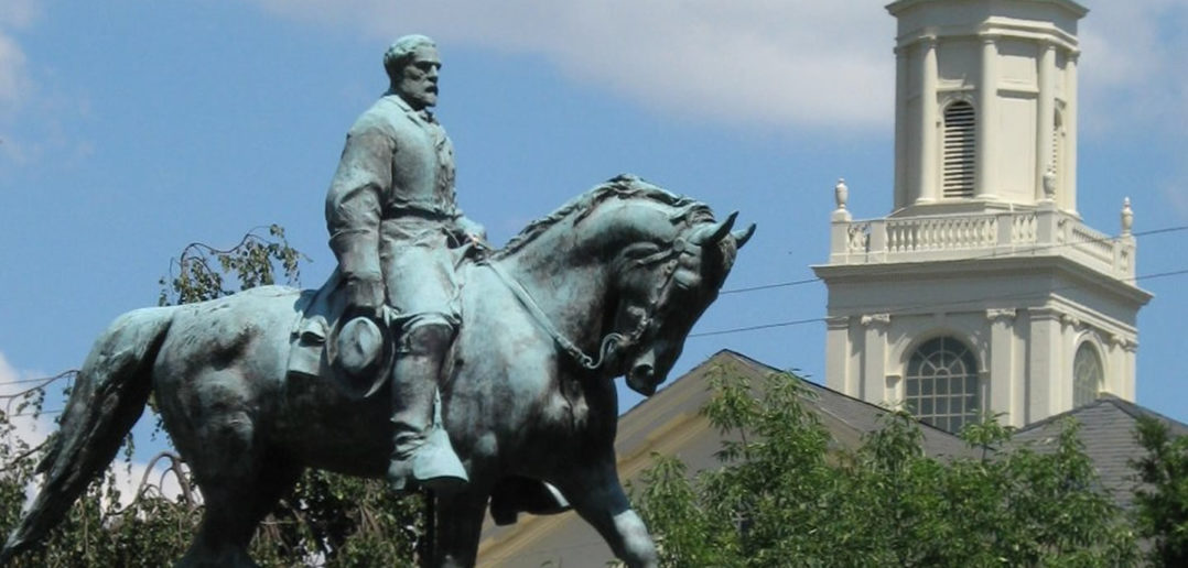 Robert E. Lee status in Charlottesville, Virginia