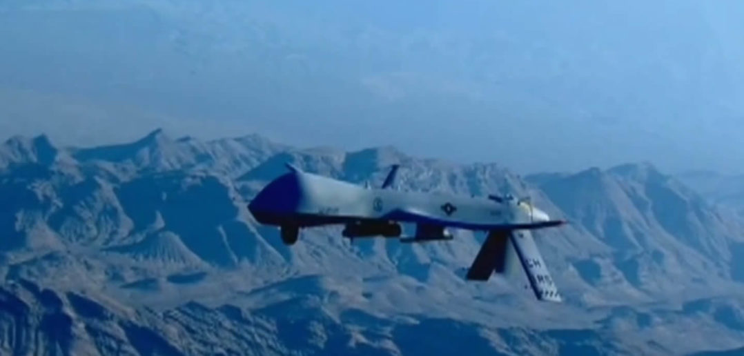 US Reaper drone over Syria/Iraq