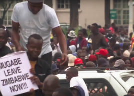Zimbabwe: Thousands rally in Harare to ouster Mugabe