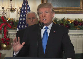 Trump recognises Jerusalem as Israeli capital and announces move of US embassy