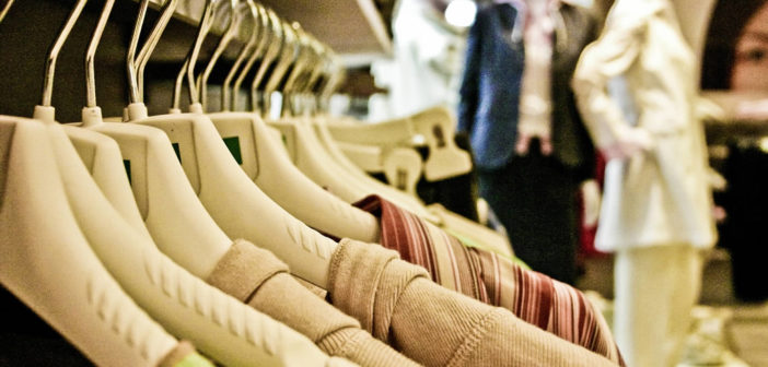 Clothes shopping / business