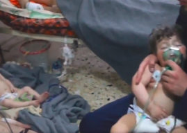 Syria: At least 70 killed in suspected chemical attack in Douma, East Ghouta
