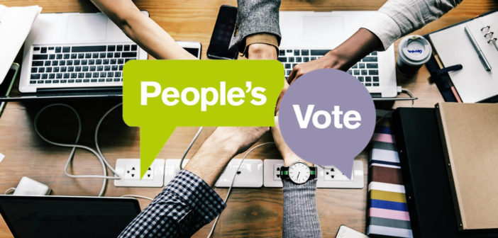 Tech community for a People's Vote on Brexit