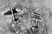 Luftwaffe over London during the Blitz