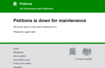 Government petitions website crashes with volume of people calling for revocation of Article 50