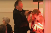 Mark Field MP attacks protester