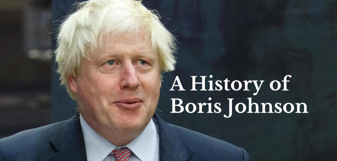 A History of Boris Johnson