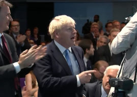 Boris Johnson elected Conservative Party leader