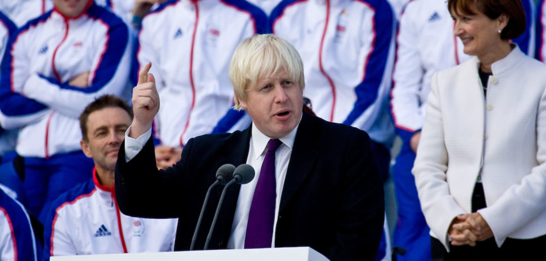 Boris Johnson at the London Olympics