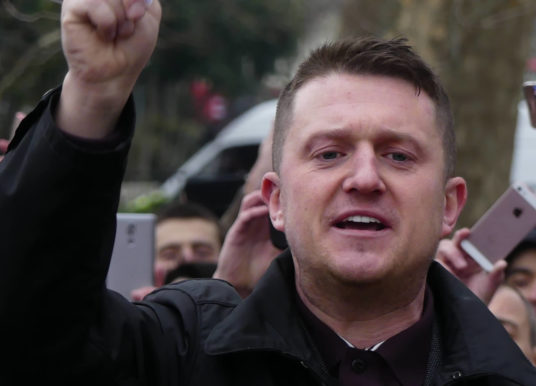Far-right agitator Tommy Robinson jailed for contempt of court