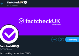 Leaders debate: Conservatives caught trying to trick voters with fake fact check Twitter account