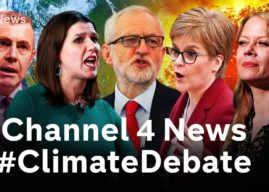 Boris the coward: Tories threaten Channel 4 after ice sculpture replaces PM in climate debate